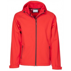 VESTE SOFTSHELL GALE ROUGE T:L