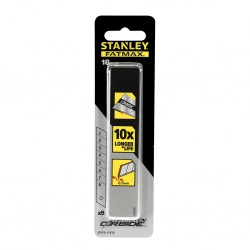 LAME CUTTER STANLEY 18MM CORBIDE (10Pi)