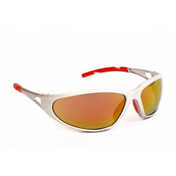 LUNETTE FREELUX CAT3 ARGENT/ROUGE