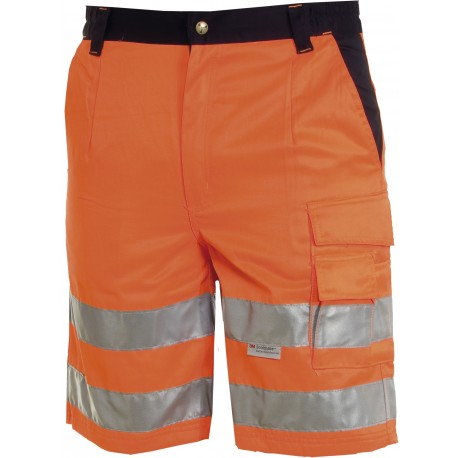 BERMUDA ROAD HAUTE VISIBILITE ORANGE FLUO/MARINE T:XL